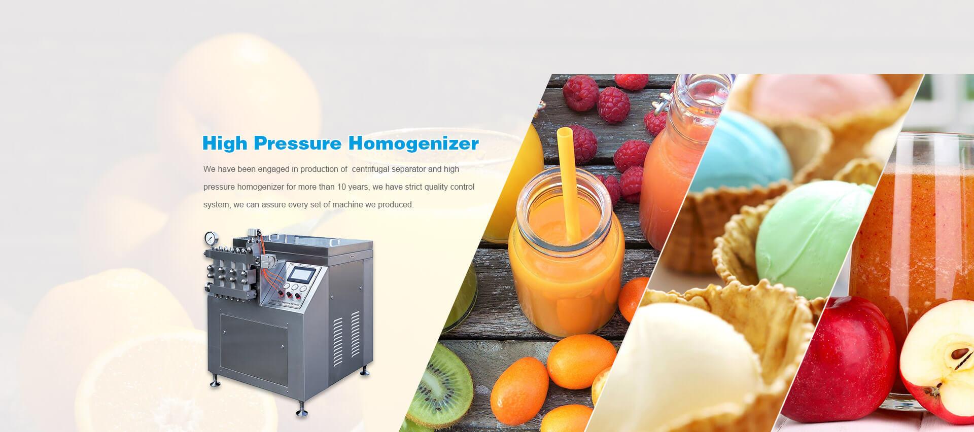 High Pressure Homogenizer